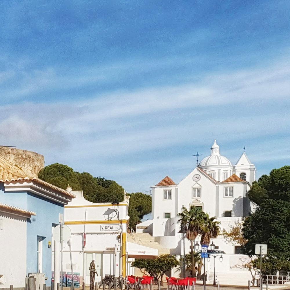 Igreja de Nossa Senhora dos Mártires castro marim