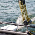 catamaran beim schnuppersegeln fleesensee