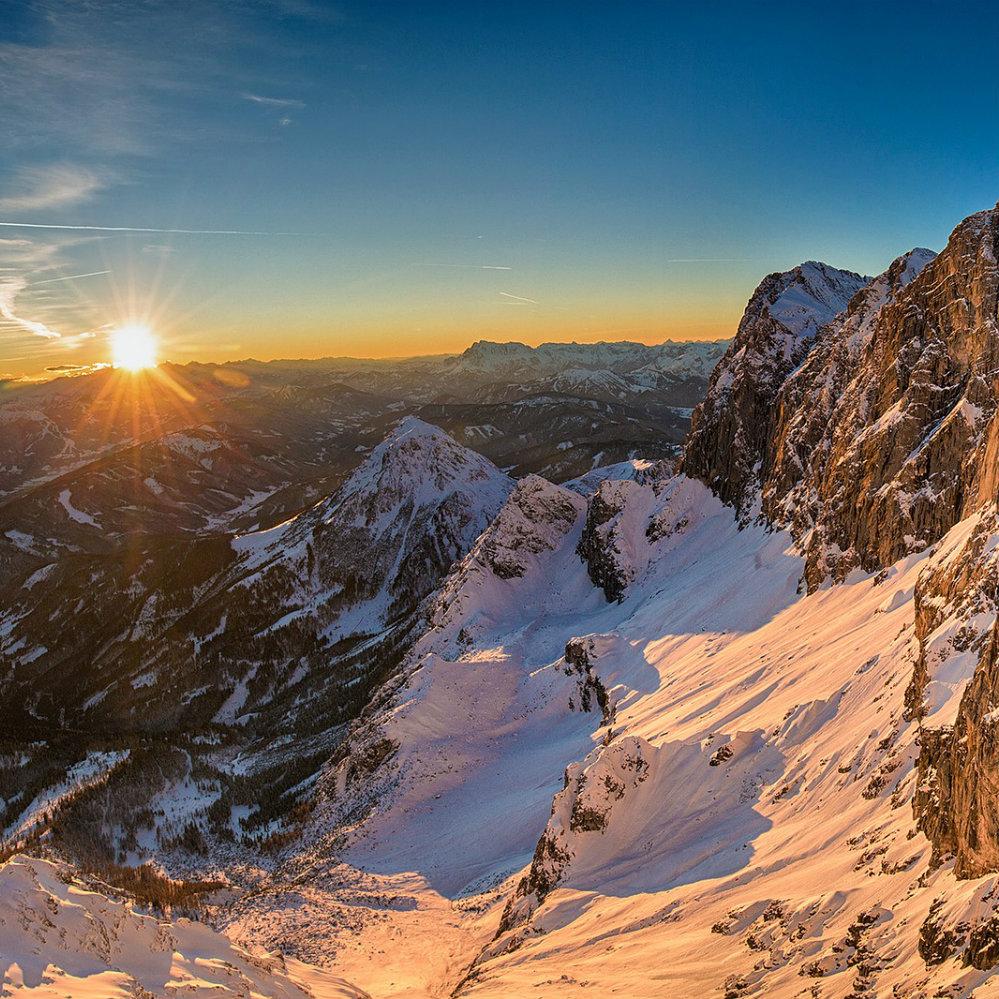 Schladming Dachstein Sunset