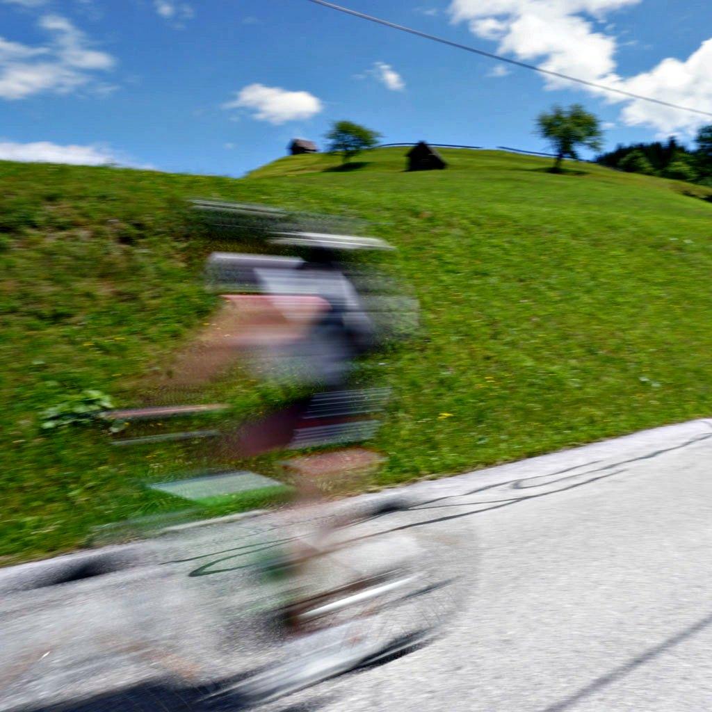 e-bike fahrt ins tal