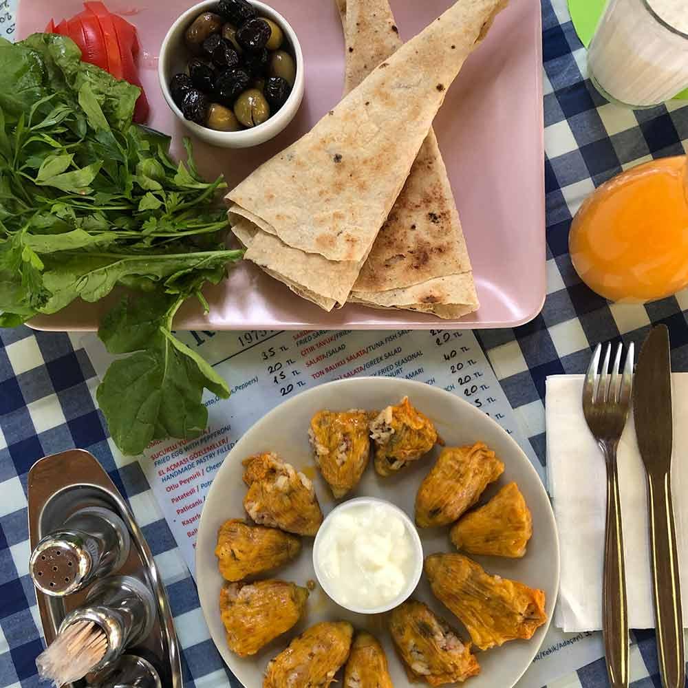 türkisches essen datca