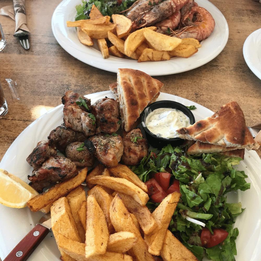 Essen Griechisch Kefalos