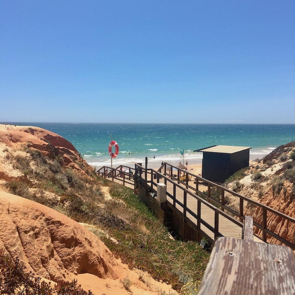 Falesia Beach Algarve Portugal