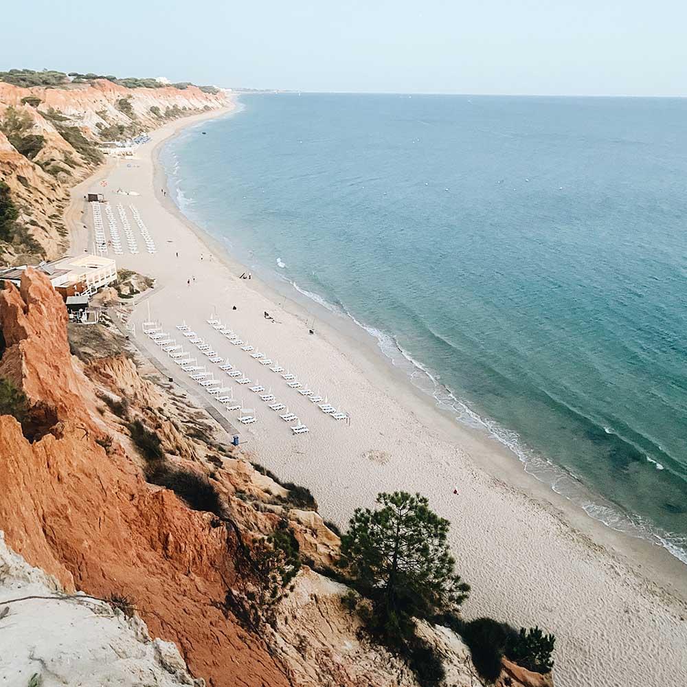 strand praia da falesia