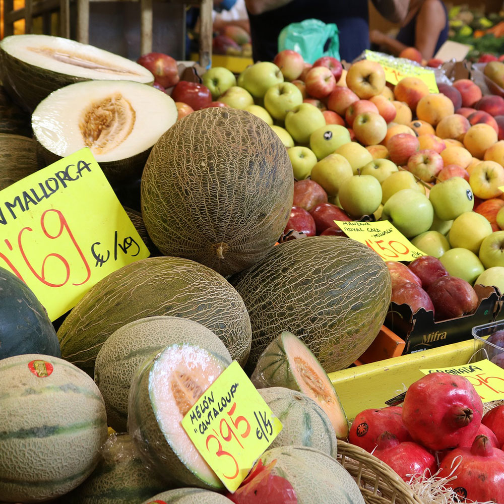 fresh regional fruit