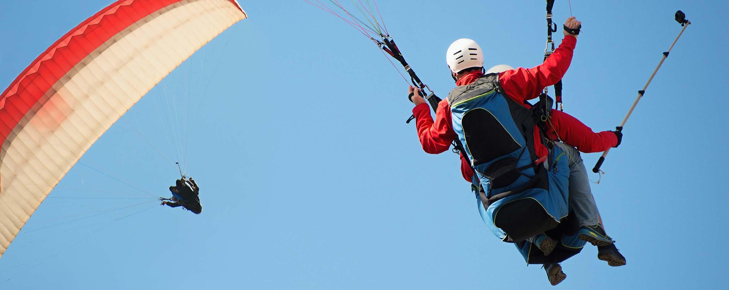 gleitschirm tandemfliegen paraglider