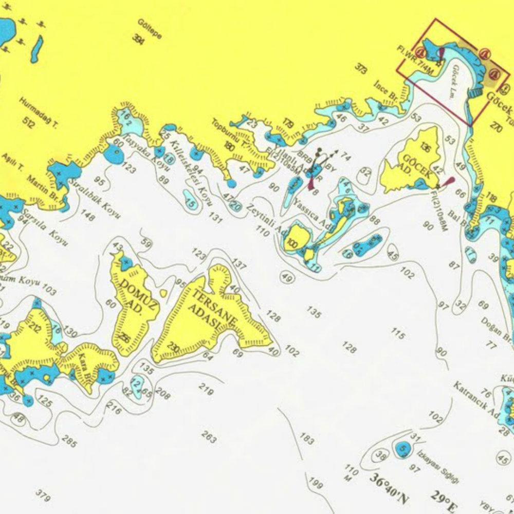 karte 12 blue islands türkei