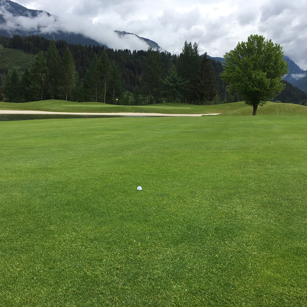 golf course schladming