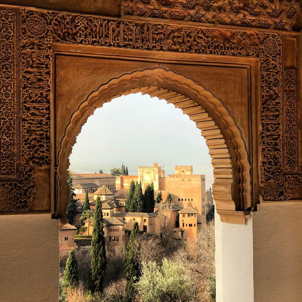 alhambra blick auf granada