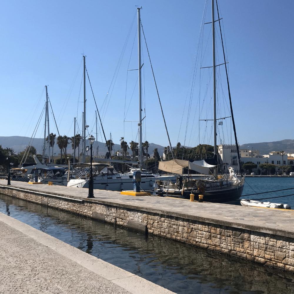 Hafen Kos Stadt