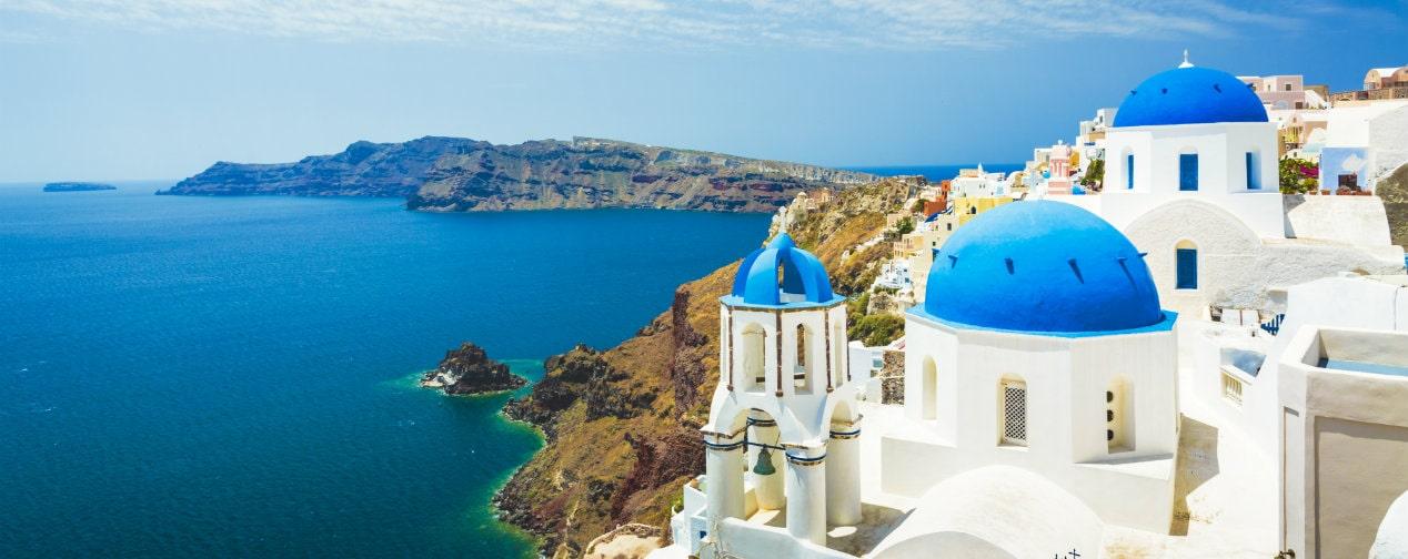 Griechischen Inseln Santorin