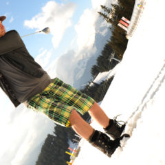 From Skis to Tees: Skiing vs. Golf