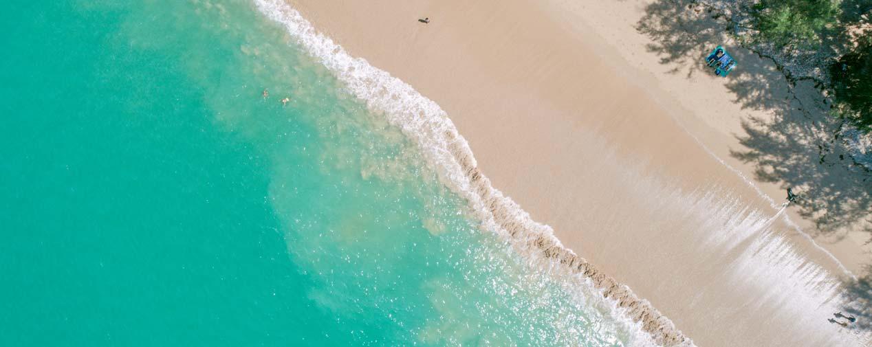 thailand strand wasser sand