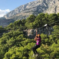 Zipline in Tučepi: Adrenalin pur im Canyon