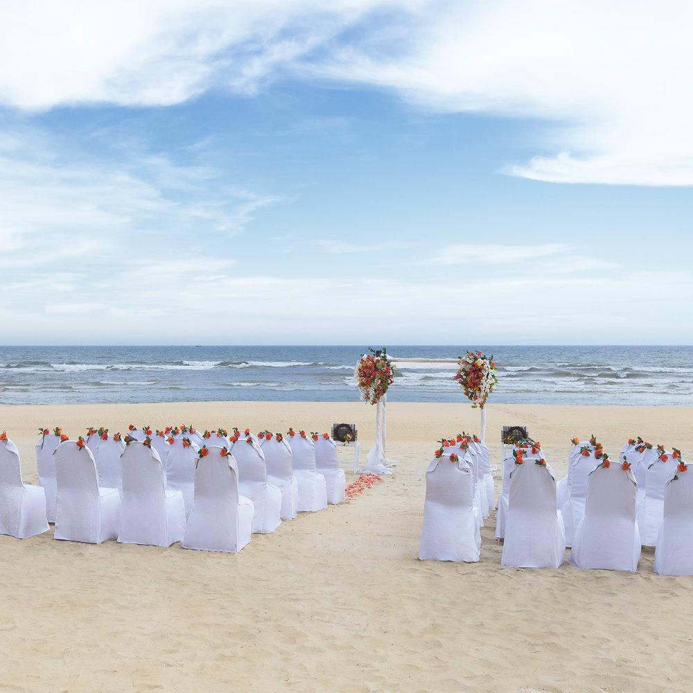 Hochzeit feiern am Strand von Vietnam