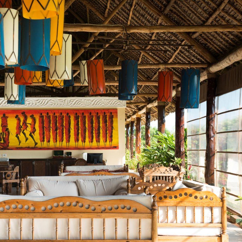 Hotelanlage Lobby TUI BLUE Sansibar