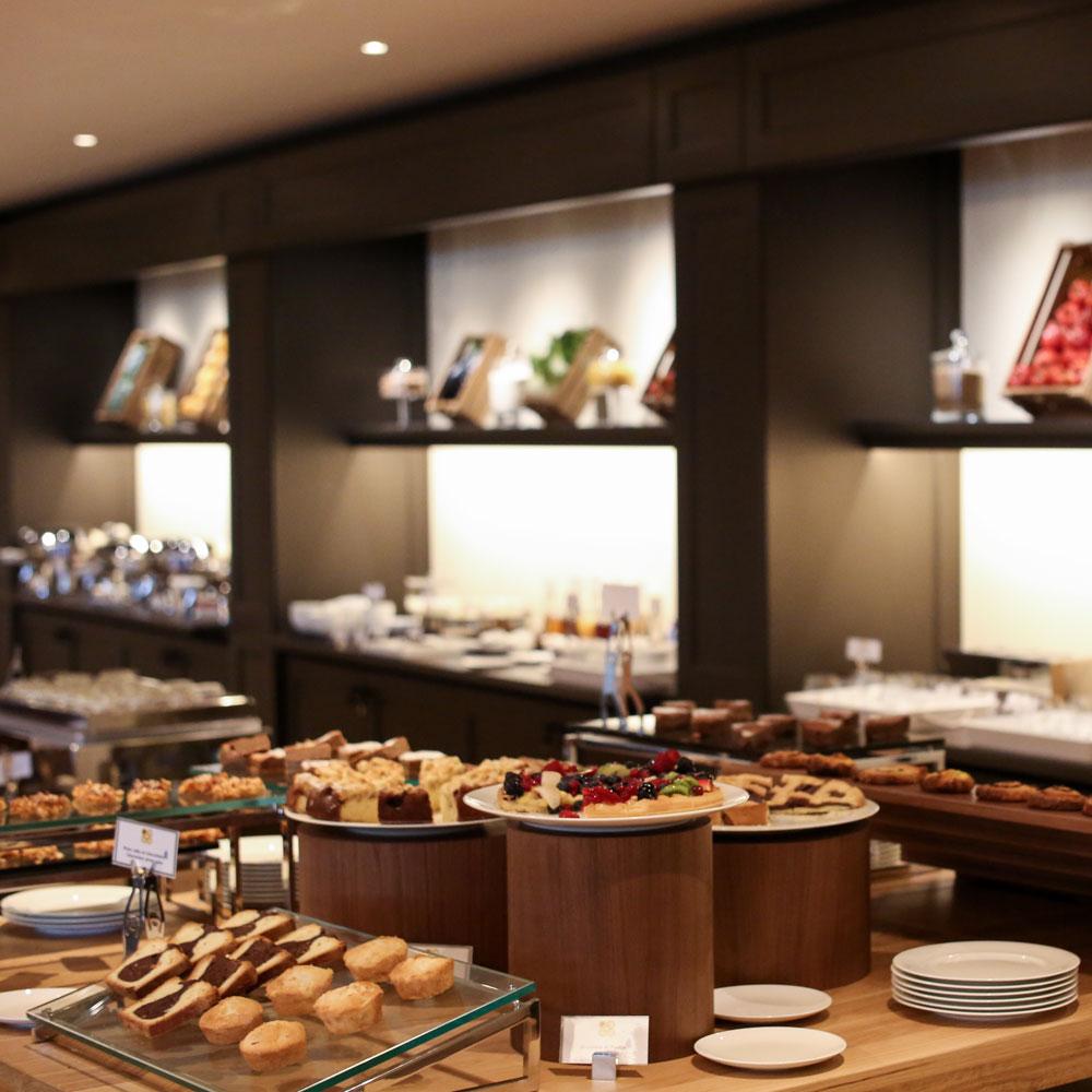 Il Castelfalfi breakfast buffet