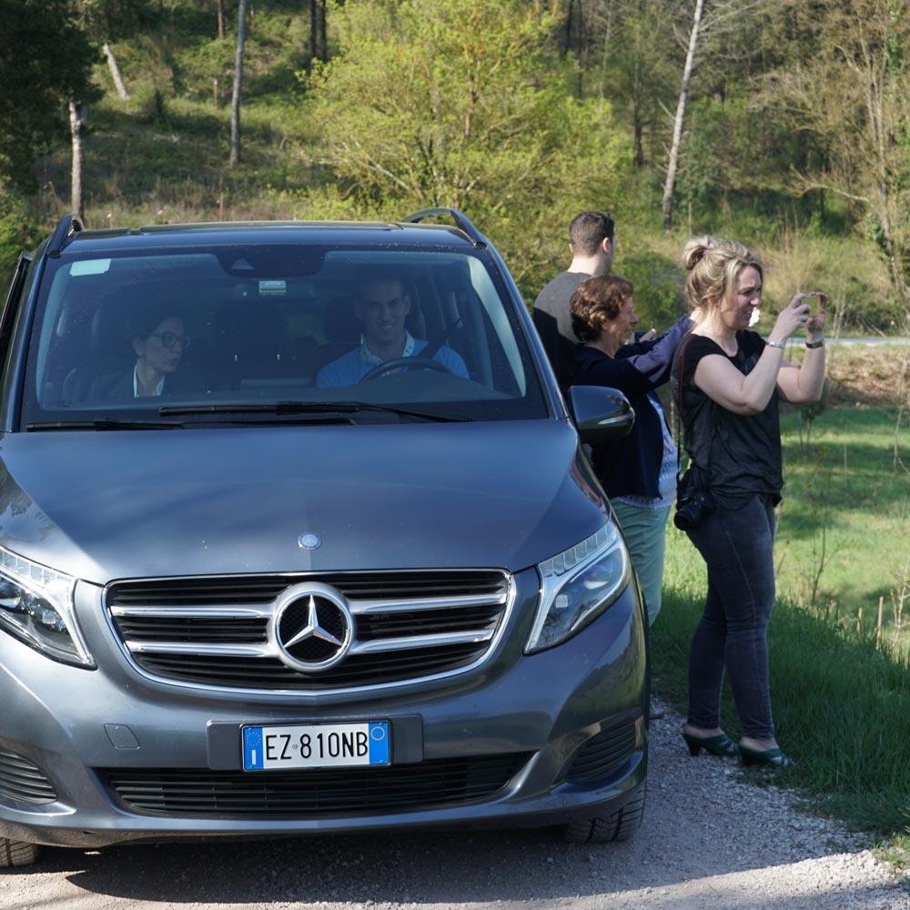 Il Castelfalfi resort tour with the press