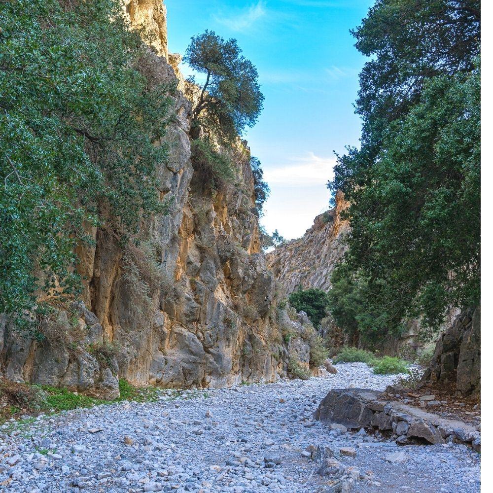 Imbros-Schlucht Sehenswürdigkeiten Kreta
