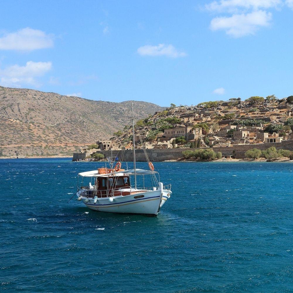 Insel Spinalonga Kreta