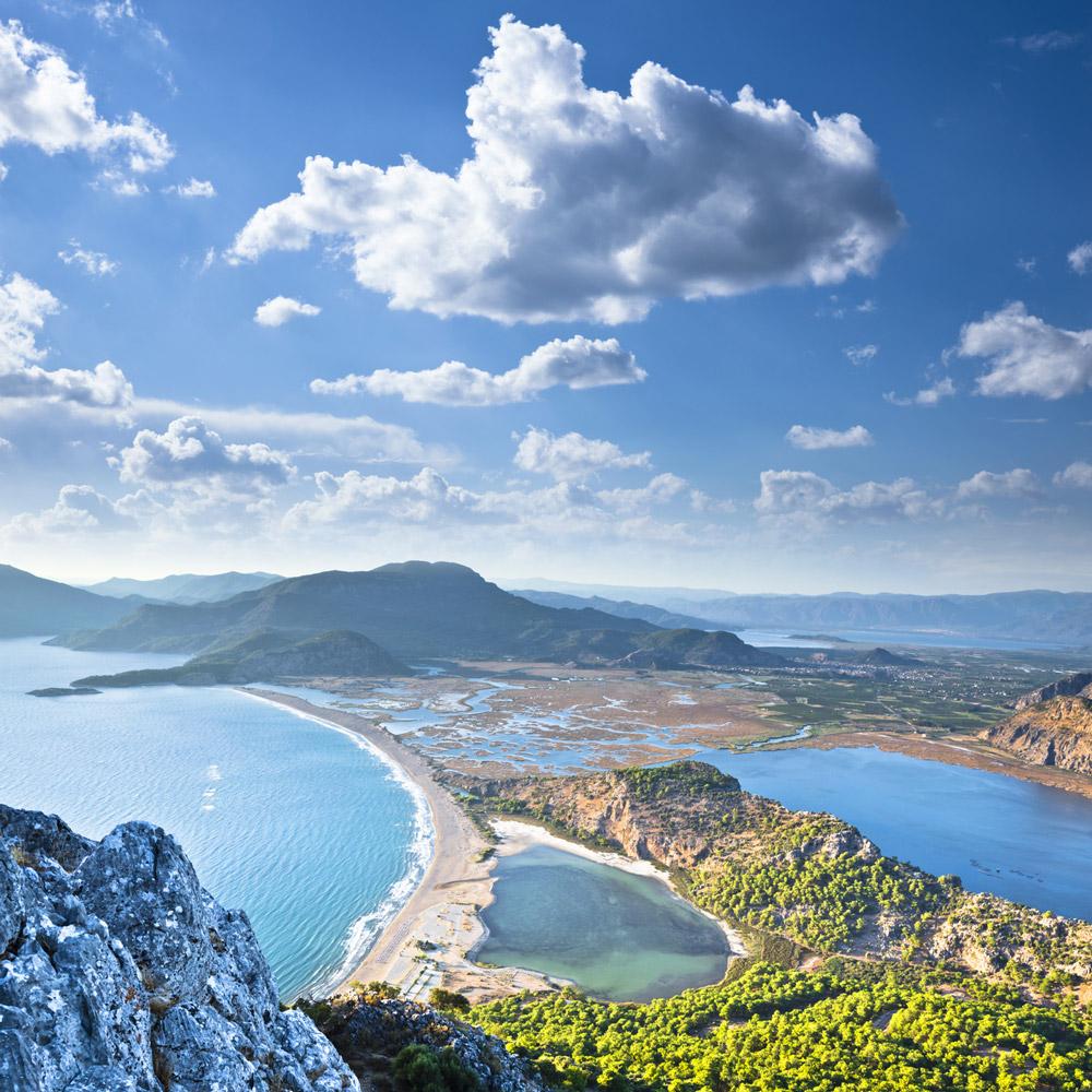 Iztuzu Strand Türkei - Heimat der Schildkröten