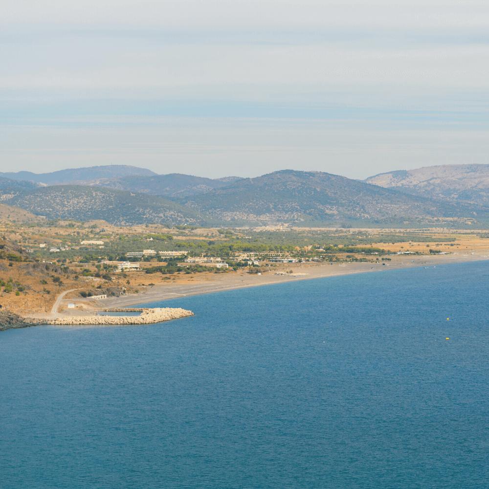 Kalathos Strand Rhodos