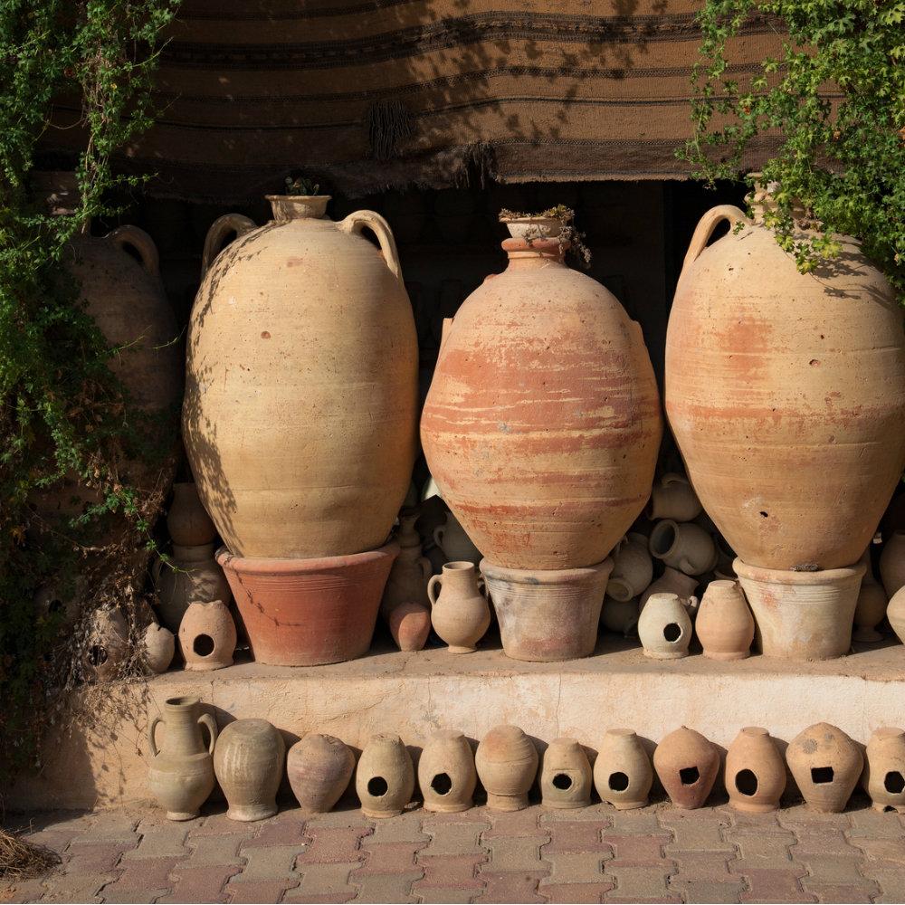 keramik töpfe tunesien antik
