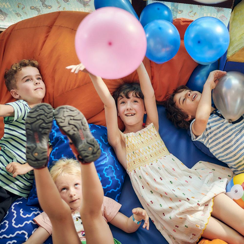 Kinderclub Kinder haben Spaß
