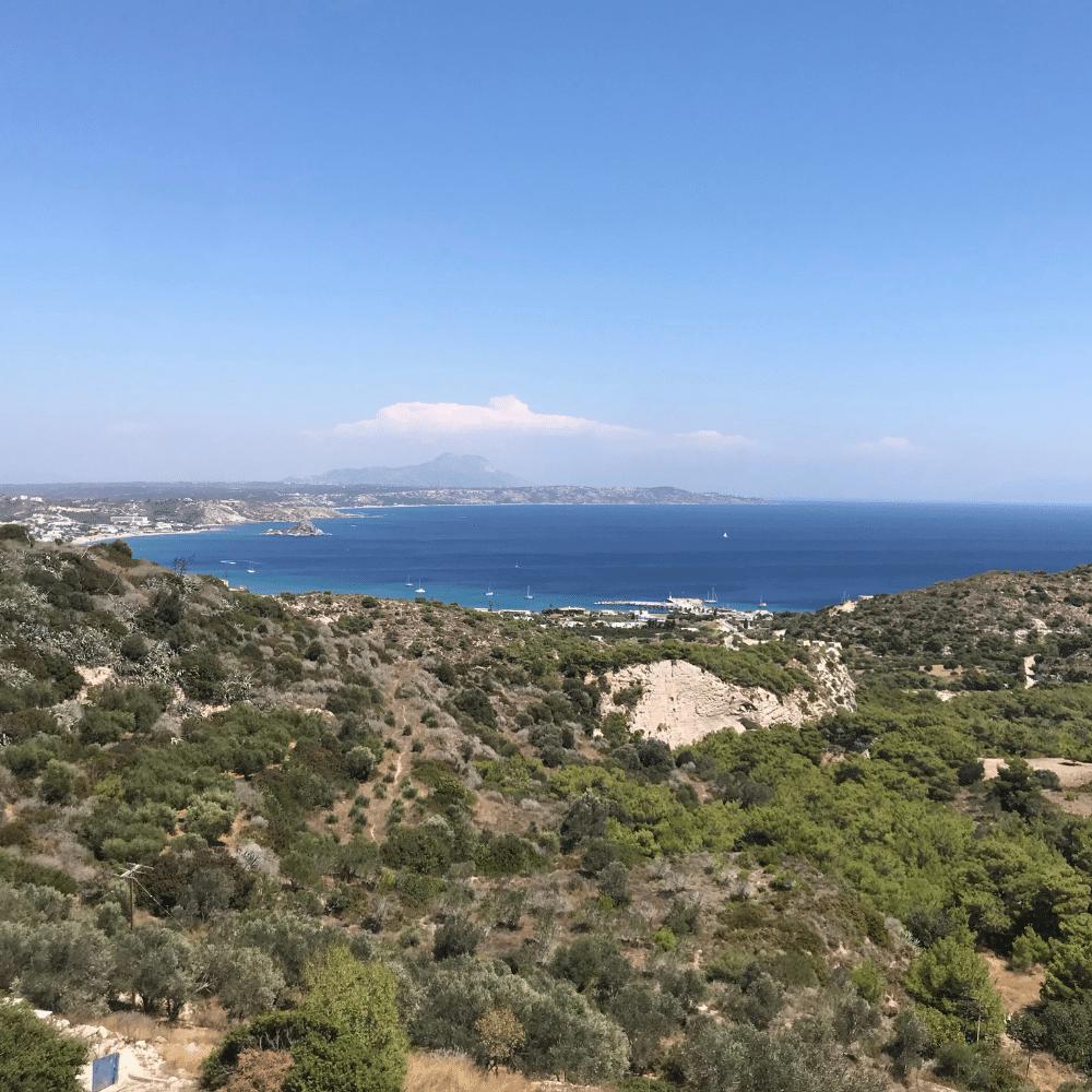 Kloster Agios Ioannis Ausblick
