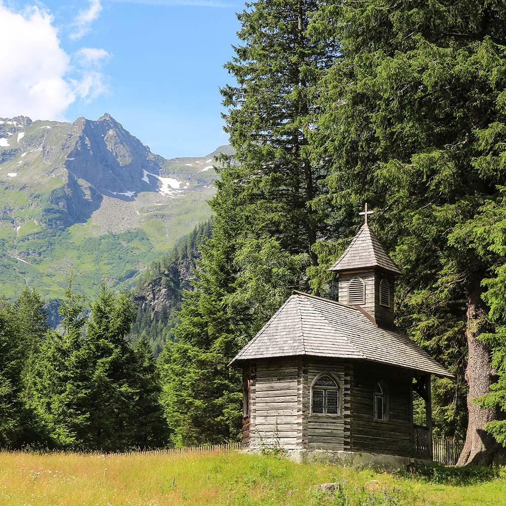 Kapelle am Schwarzensee