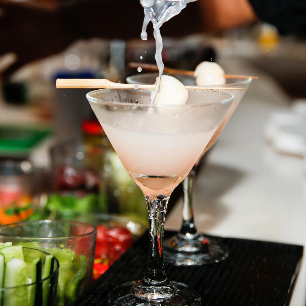 Lychee Martini Vietnam