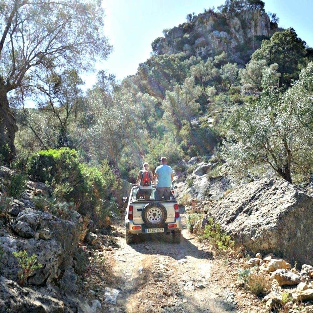 mallorca hinterland jeep safari