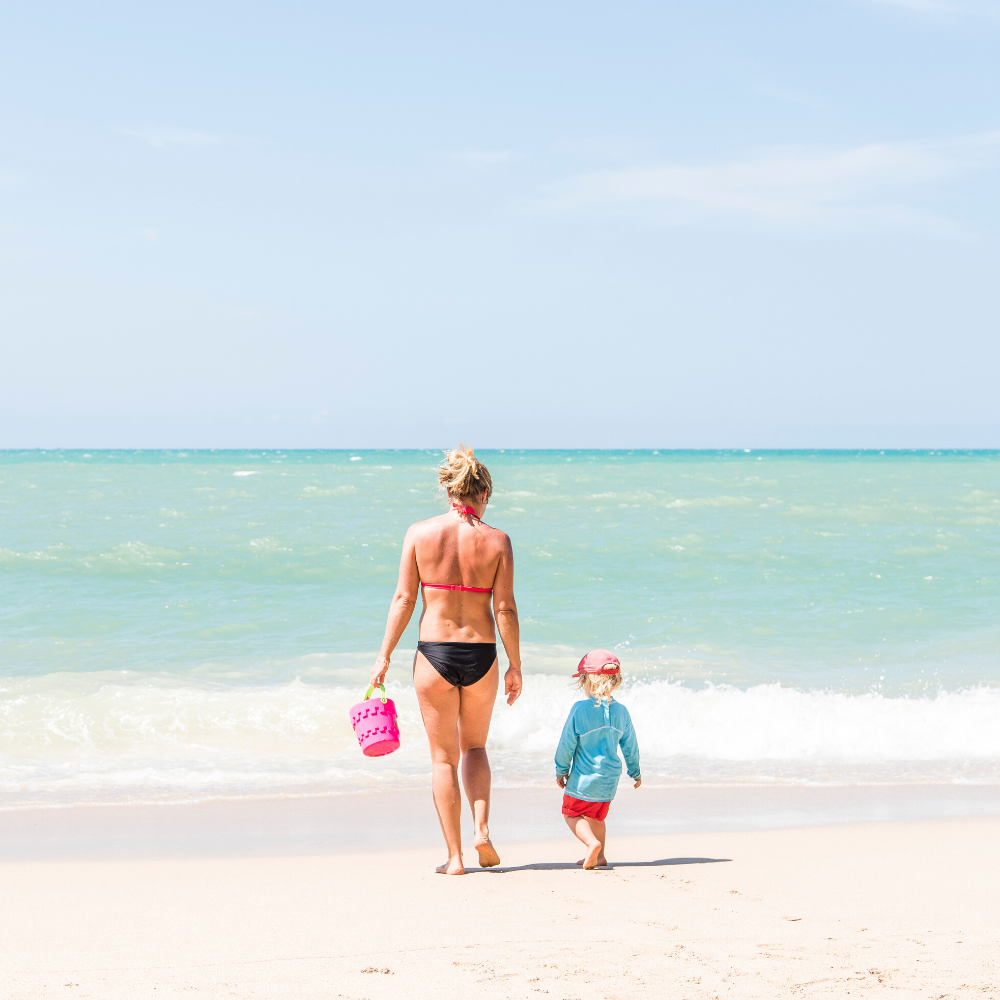 mutter tochter strand thailand mit kindern familienurlaub tui blue