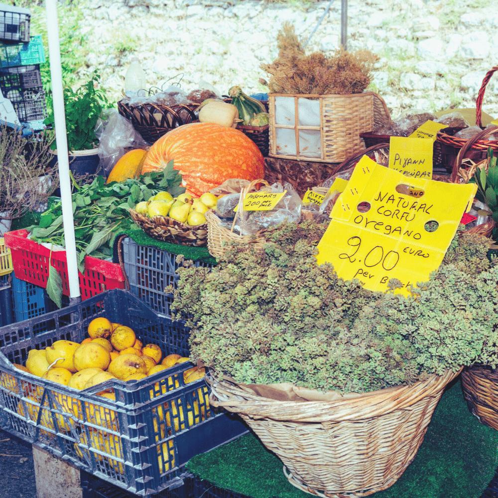 Markt in Korfu