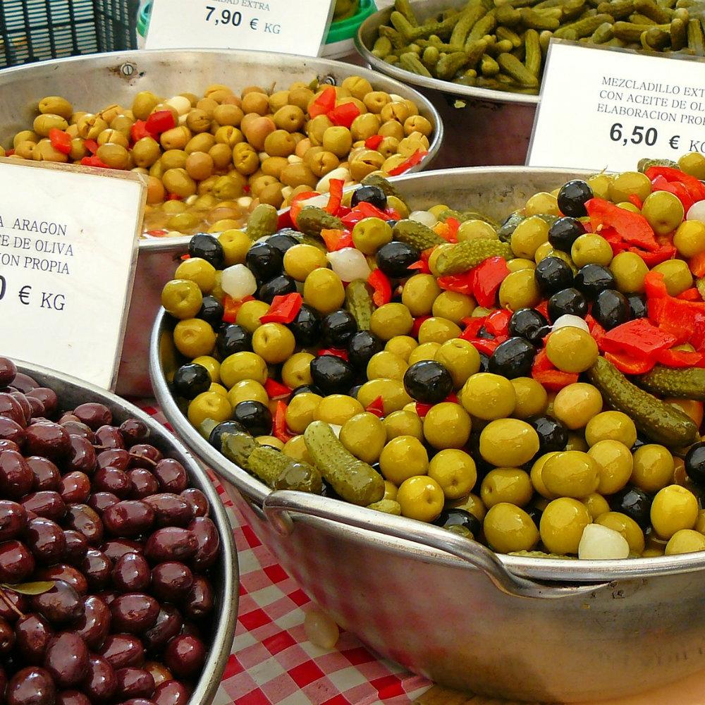 oliven wochenmärkte auf mallorca