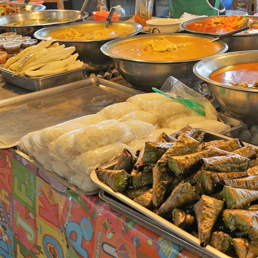 Thailand Markt Essen