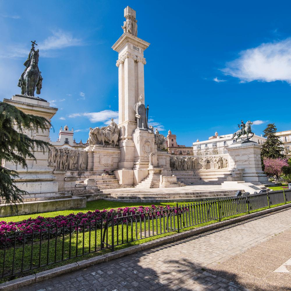 Monumento a la Constitución Cádiz