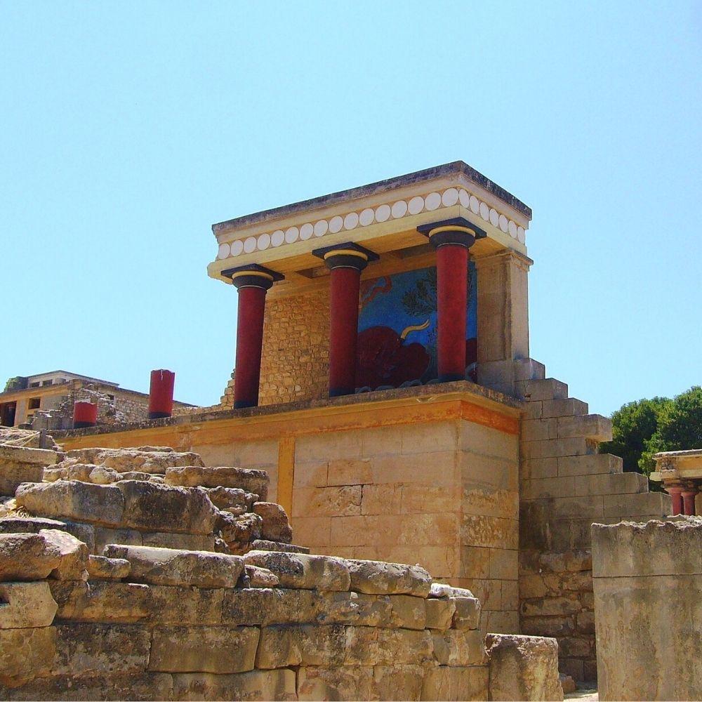 Palast von Knossos Kreta