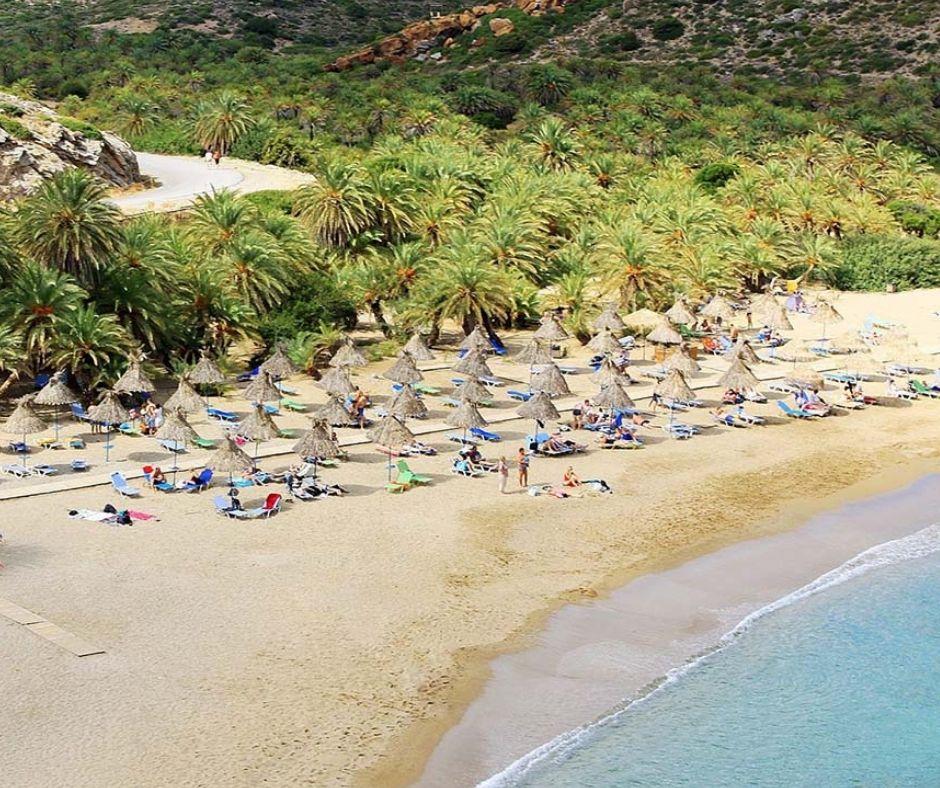 Palmenstrand Vai Kreta