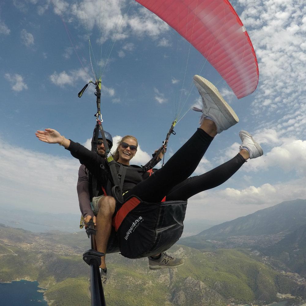 freude paragliding türkei