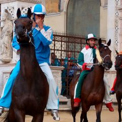 Il Palio Horse Race in Siena: A City without Boundaries or Borders