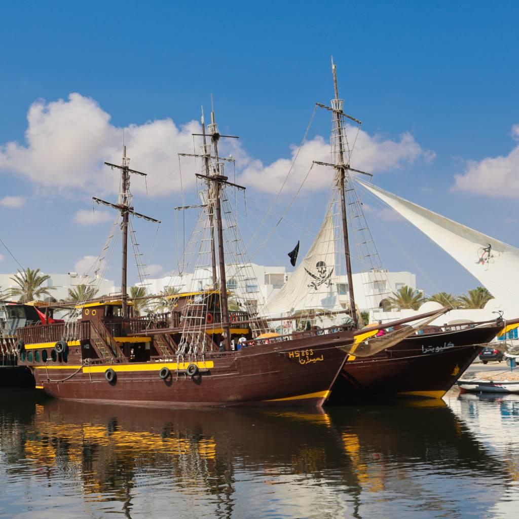 piratenschiffe houmt_souk