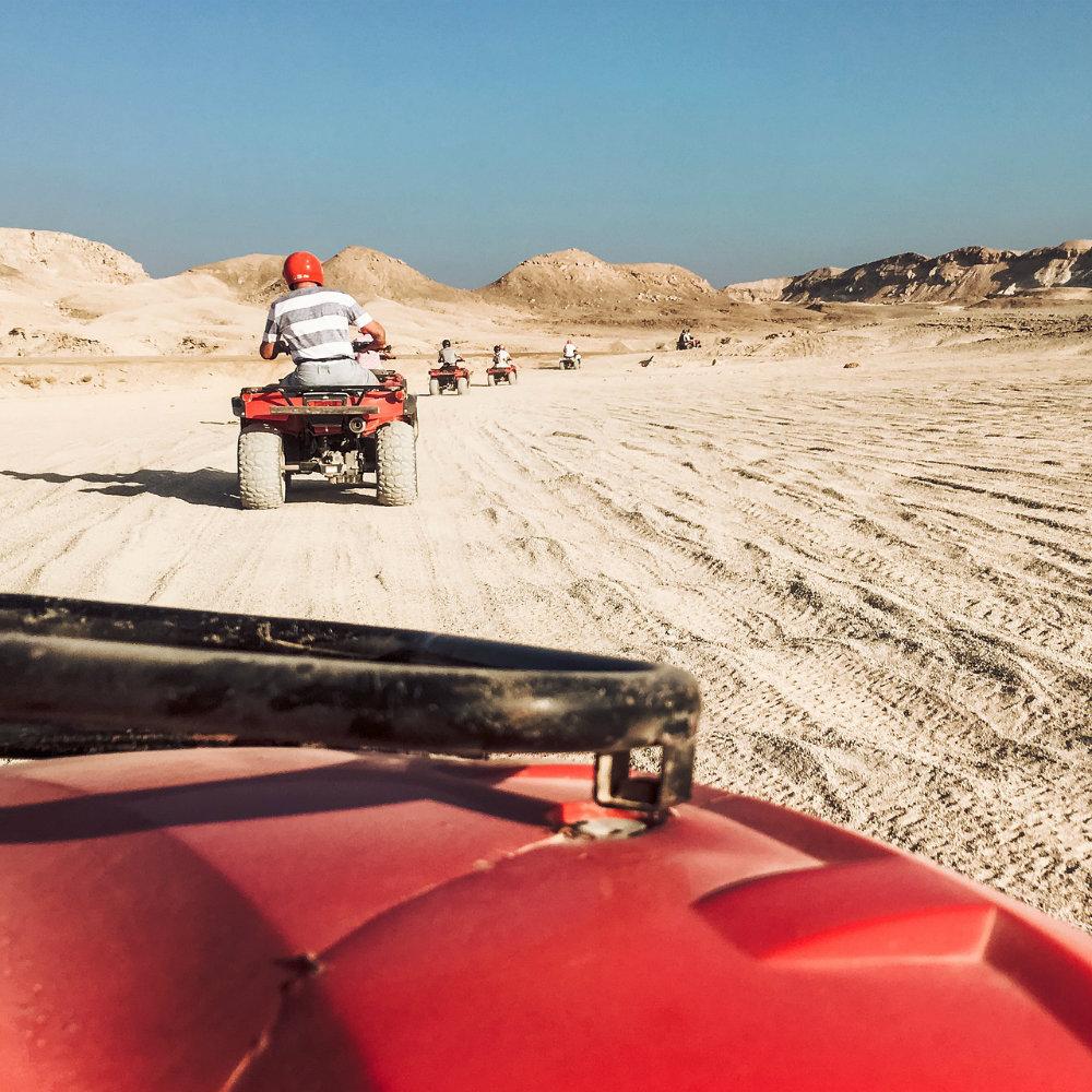 Quad fahren Ägypten