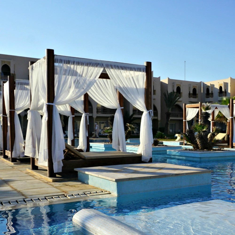 Relaxpool im TUI BLUE Palm Beach Palace