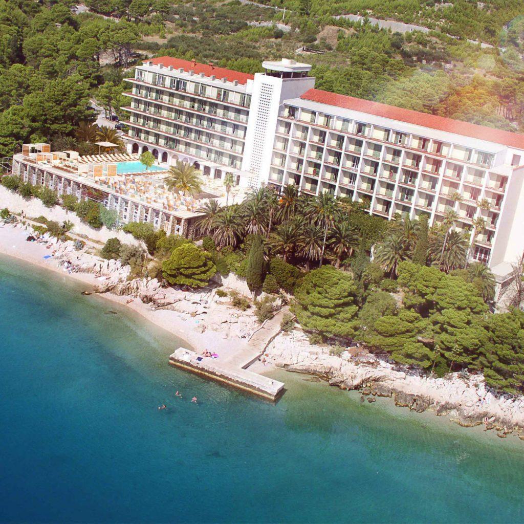 Hotel Tui Blue Jadran Luftaufnahme