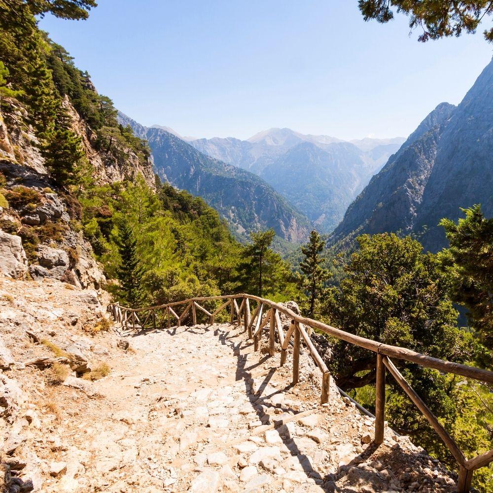 Samaria-Schlucht Kreta