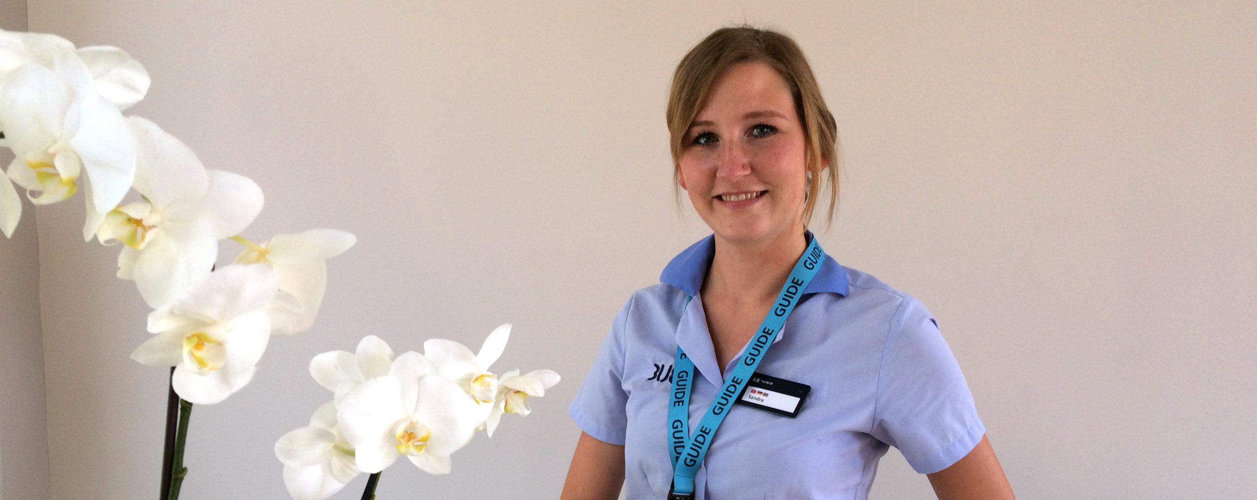 Sandra Cetin, BLUE Guide at TUI BLUE Palm Garden