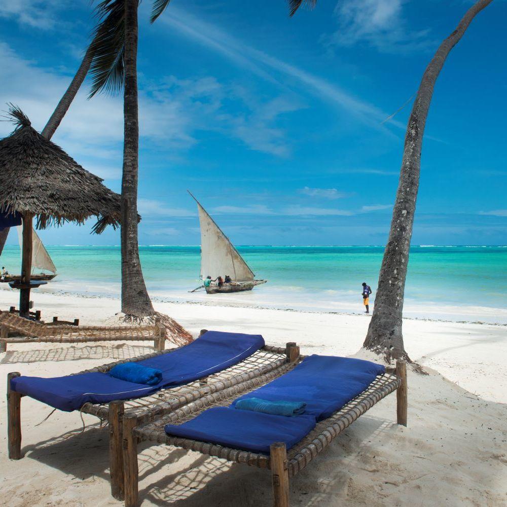TUI BLUE Sansibar Liegen Strand