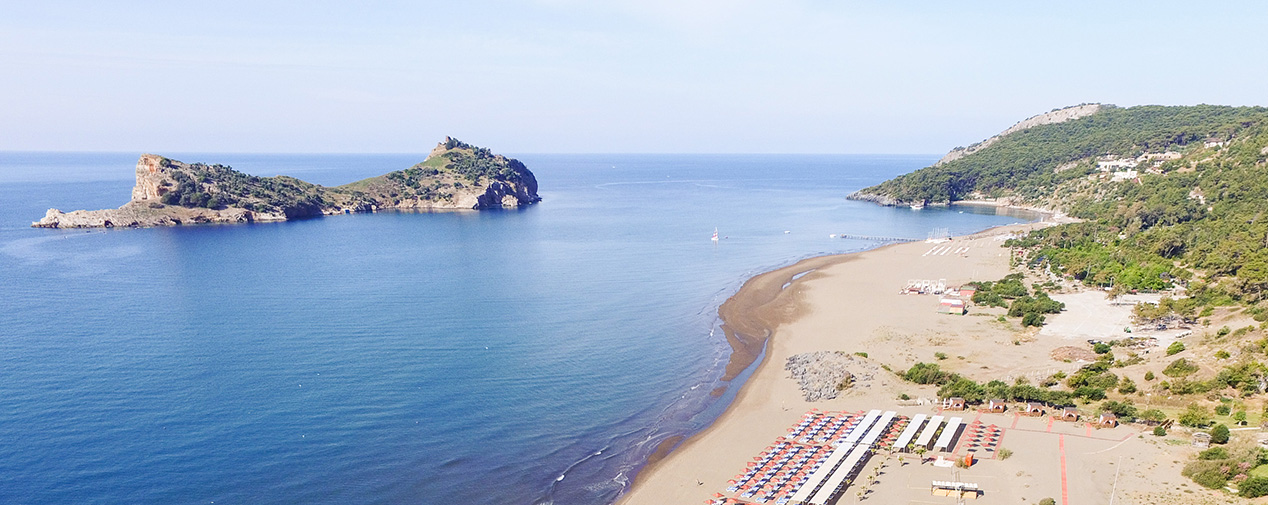 Sarigerme Park Beach Turkish Aegean Sea