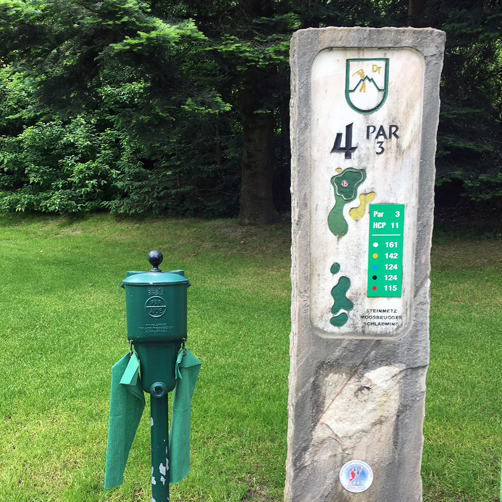 sign golf schladming